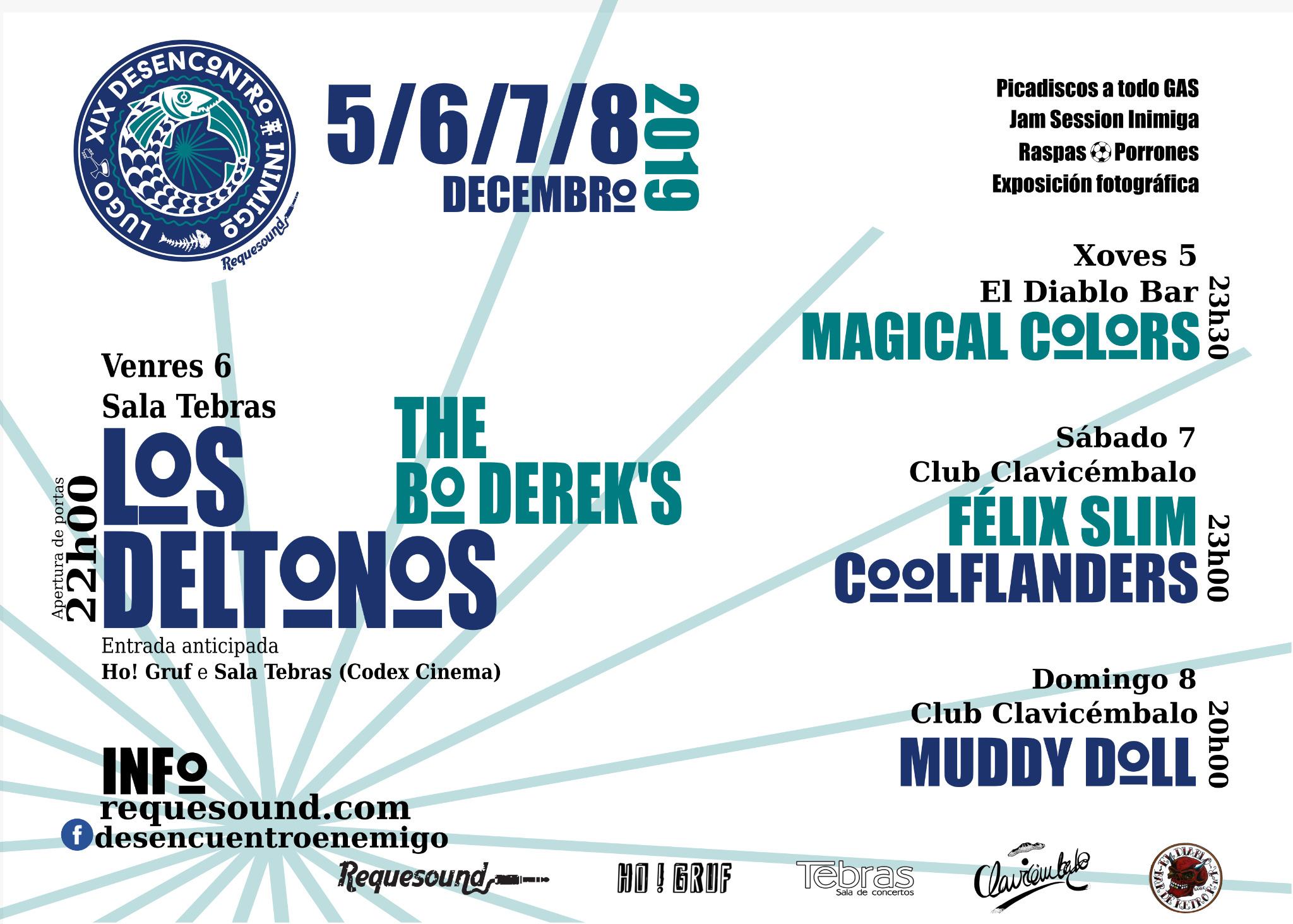 Cartel Desencuentro 2019