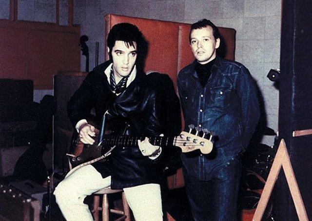 Moman y Elvis en American Sounds Studios